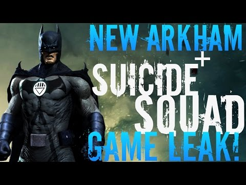 NEW ARKHAM GAME + SUICIDE SQUAD GAME LEAKED!? SUICIDE SQUAD GAME ARKHAM ORIGINS 2?!
