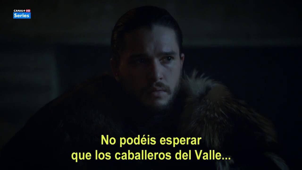 Juego De Tronos 6x10 Jon El Rey En El Norte Youtube