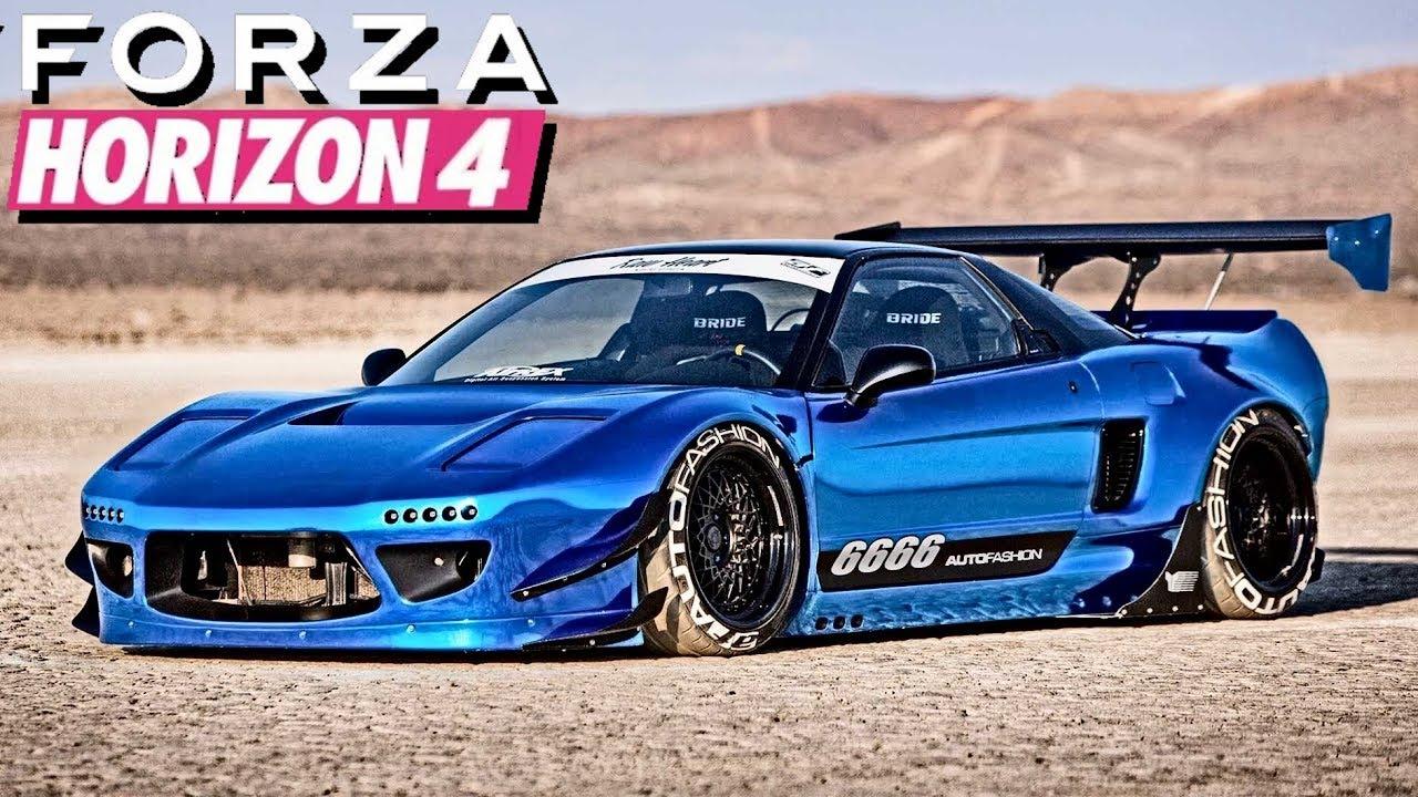 FORZA HORIZON 4 - 267+ MPH Honda NSX-R Tutorial!!