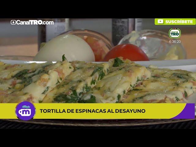 Prepara tortilla de espinacas: deliciosa, saludable y fácil de hacer