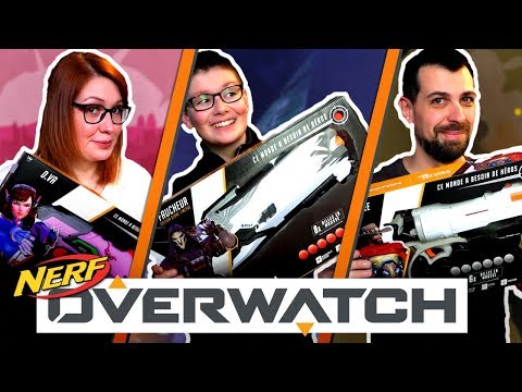NERF RIVALS OVERWATCH COLLECTION thumbnail