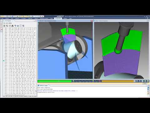 Additive manufacturing simulation of 3D Hybrid Solutions impeller blade