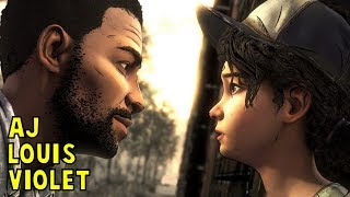 Lee Talks to Clem About Louis, Violet and AJ -All Choices- The Walking Dead Final Season Episode 3