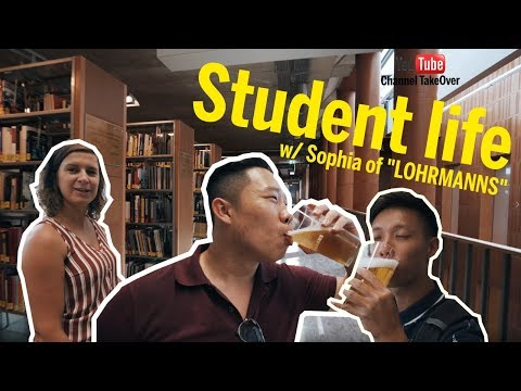 Dresden like a local... Student-life-Vlog w/Sophia of LOHRMANNS - Shawne & Shawn Channel TakeOver