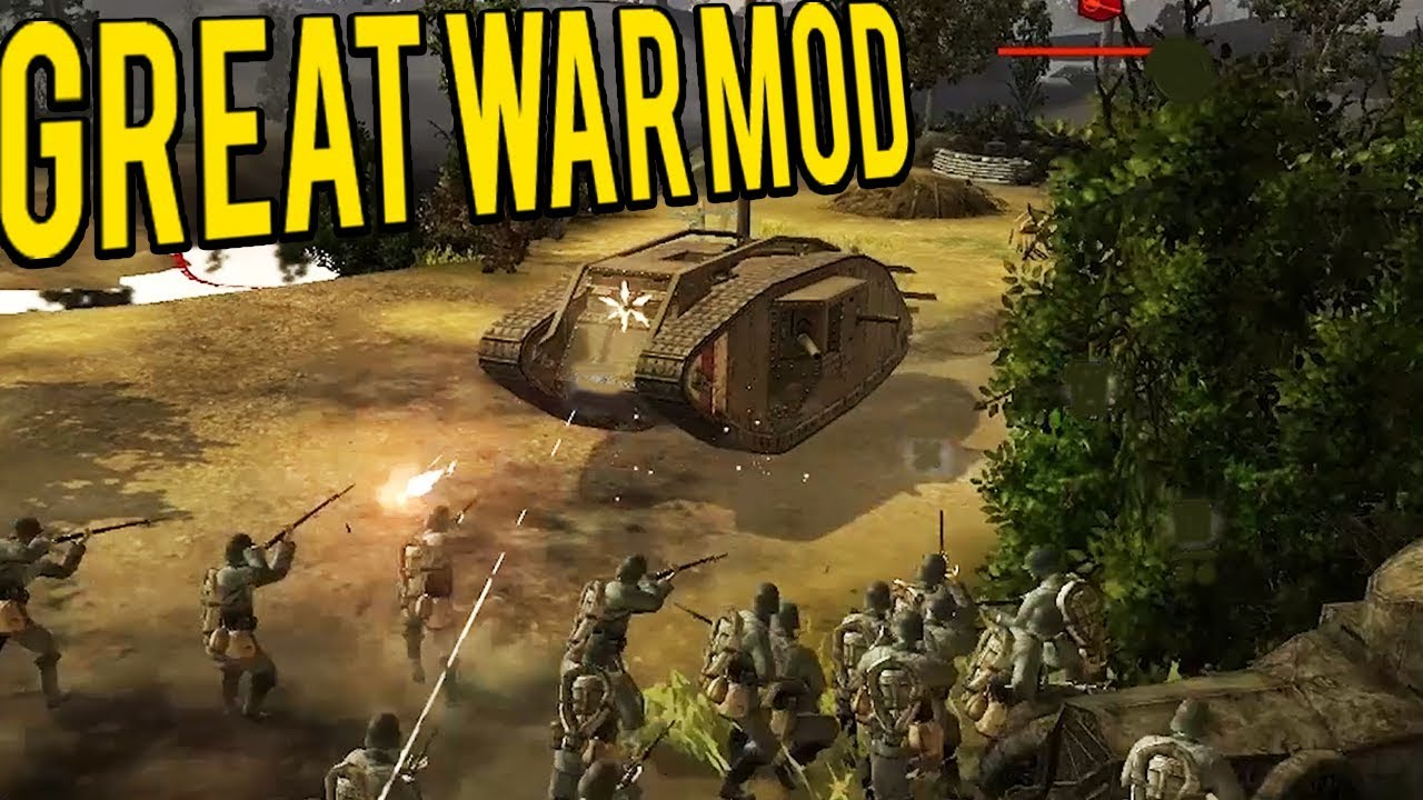 Download Company of Heroes World War One Mod - The Great War 1918