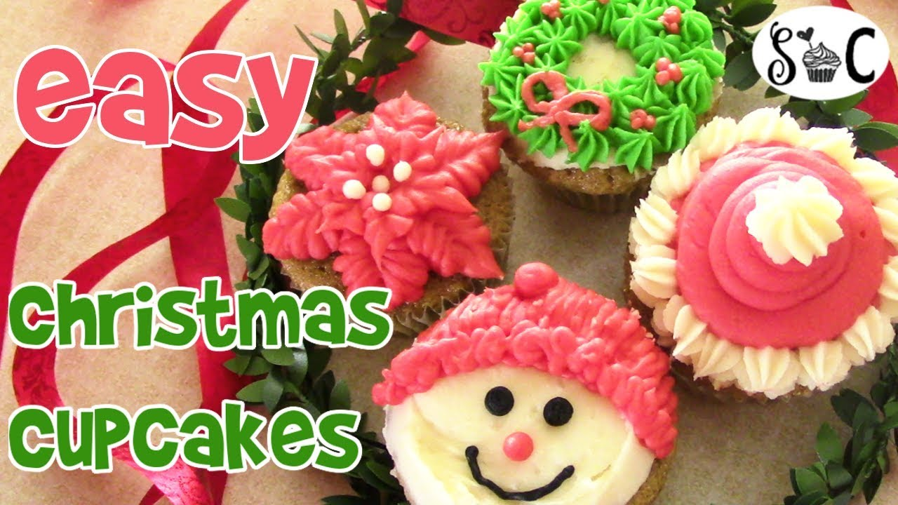 merry christmas cupcake decorating ideas sweetwater cakes