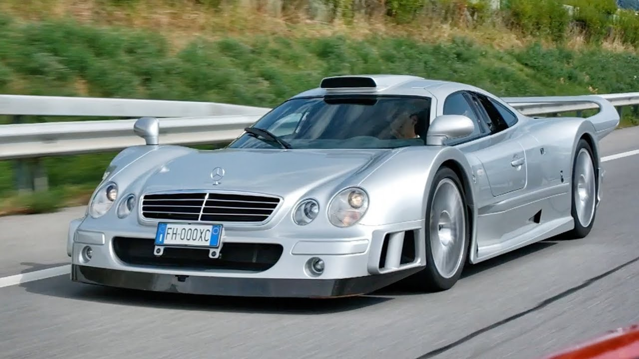 Picking Up A Mercedes CLK GTR