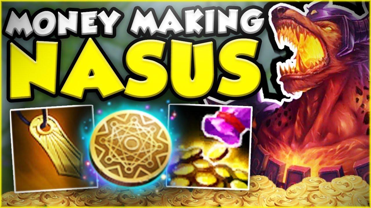 Fastest Full Nasus Build Possible Money Making Nasus Season 8 Top
