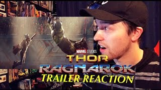 Thor Ragnarok Teaser Trailer Reaction!!! | ITS FINALLY HERE OMG