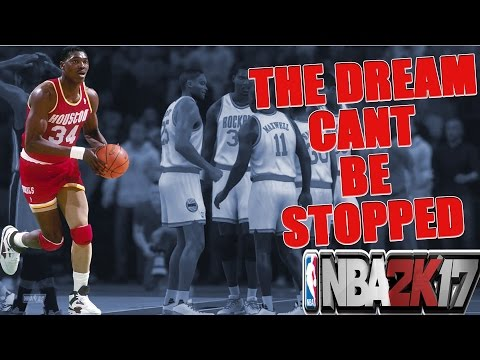 94' ROCKETS - THE DREAM CANT BE STOPPED - PLAYNOW ONLINE - NBA 2K17 - #KEEPSIMALIVE