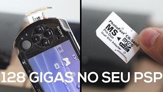 DEIXE SEU PSP COM 128 GIGAS!