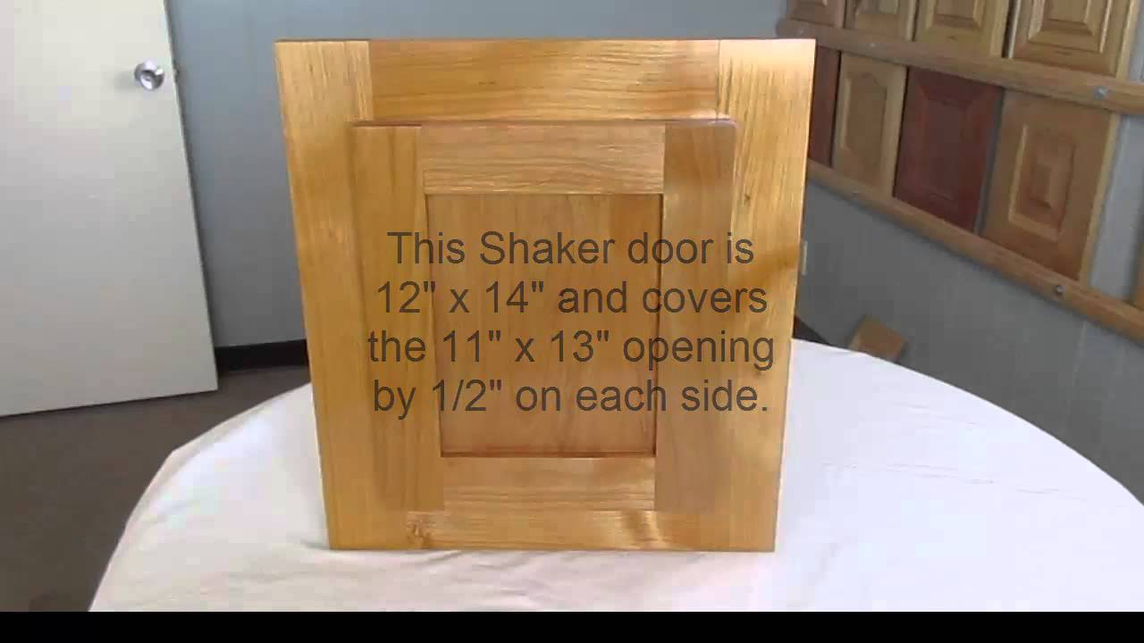 How To Measure For New Cabinet Doors Youtube