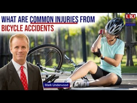 What are common injuries from Texas bicycle accidents?