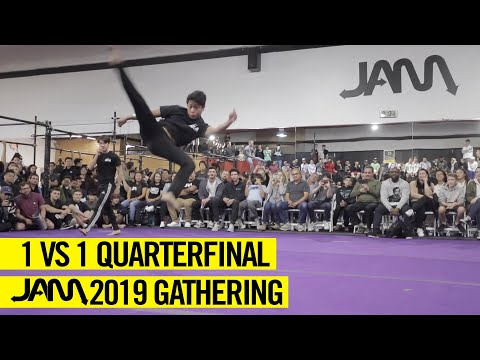 JAM 2019 GATHERING | 1 VS. 1 QUARTERFINAL TRICKING BATTLE - AIDAN KENNEDY VS. SALEF CELIZ