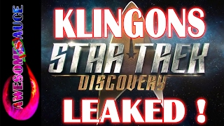 Star Trek Discovery LEAKED KLINGON PHOTOS and Teaser Trailer breakdown! #Awesometacular