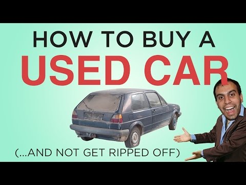 How To Buy Used Car Without Getting Ripped Off