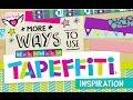 #Tapeffiti DIY Inspiration