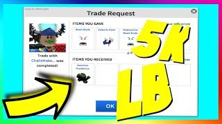 GETTING A DOMINUS FOR A 5K LB!? (ROBLOX TRADING) ROAD TO 500K