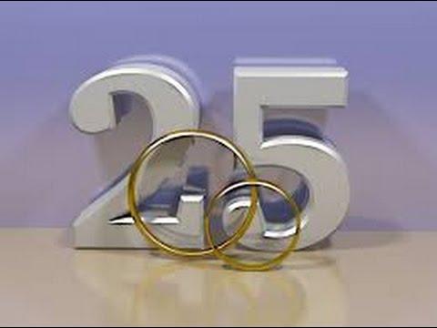Telemensagem De Bodas De Prata Para Esposa Querida Tm272 Youtube