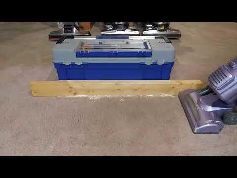 Carpet Edge Cleaning Using A Shark NV22