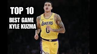 TOP 10 BEST GAME OF KYLE KUZMA   NBA   SPORTS international