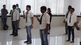best and funniest group dance ever by webtech team at gmss rhythm october event 2014