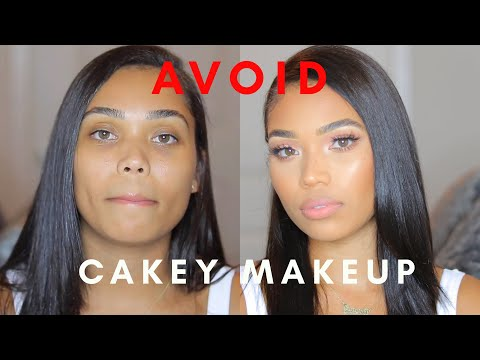 HOW TO AVOID CAKEY MAKEUP TUTORIAL | DRY & OILY SKIN | Briana Monique'