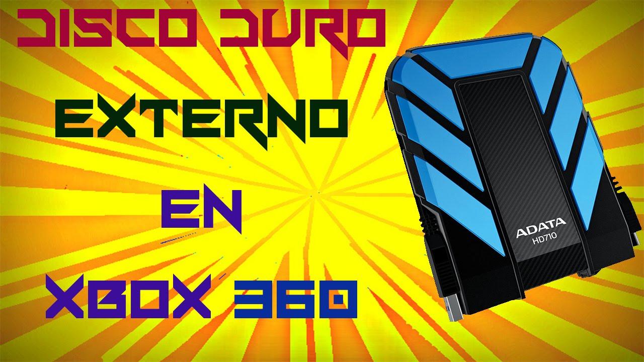 COMO CONECTAR UN DISCO DURO EXTERNO EN XBOX 360 | @IVEGETAIA