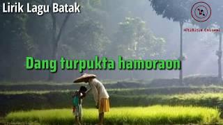 Dewi Marpaung - Dang turpukta hamoraon (lirik lagu batak)