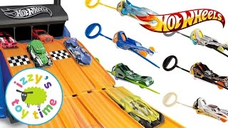 CARS FOR KIDS | Hot Wheels Zip Rippers! And Fast Lane! Fun Toy Cars for Kids