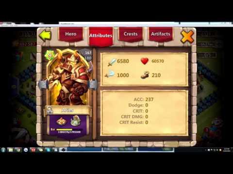 Castle Clash Hero Guide: Aries Tutorial