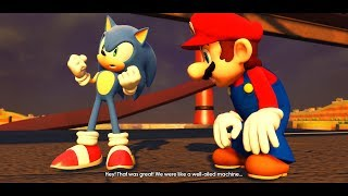 Sonic Forces Mod: Mario in Cutscenes