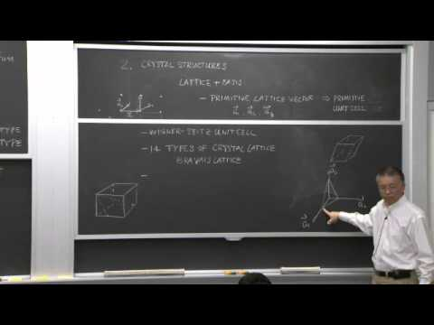 6. Crystal Bonding & Electronic Energy Levels in Crystals
