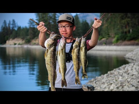 Fort Spokane Walleye And Bass Fishing | Bank Fishing Grind
