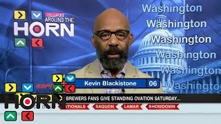 Kevin Blackistone: Brewers fans' actions worse than Josh Hader's tweets | Around The Horn | ESPN