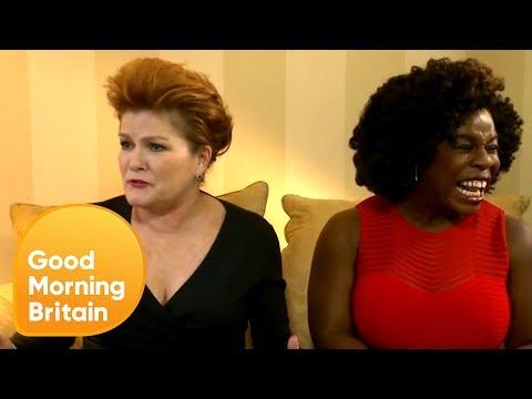 Kate Mulgrew and Uzo Aduba  Orange Is The New Black Exclusive  Good Morning Britain