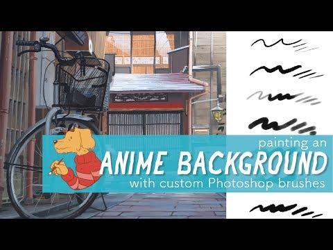 Get My Custom Photoshop Brush Set! Demo.