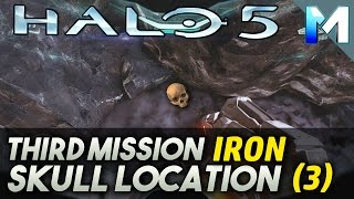 Halo 5 Guardians Skull Location (Iron) Mission 3, Hidden Skull Collectible