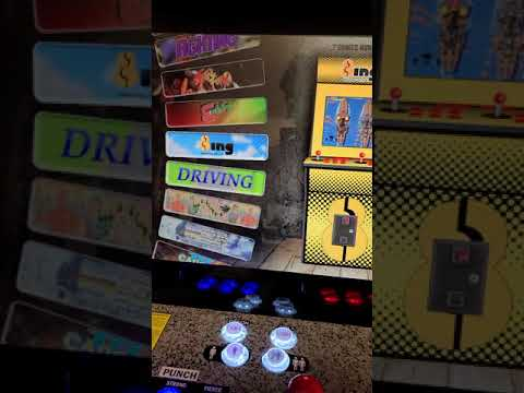 arcade1up street fighter upgrade from J M Arcades