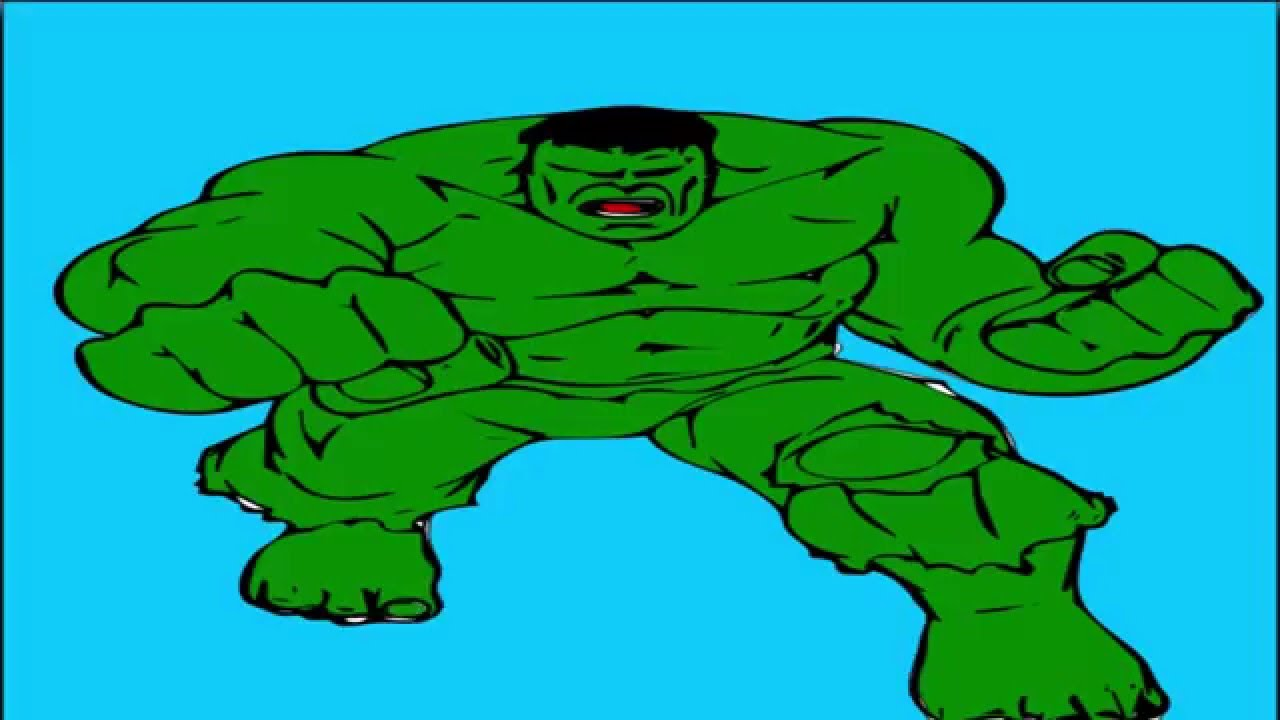 hulk coloring pages coloring pages for kids youtube