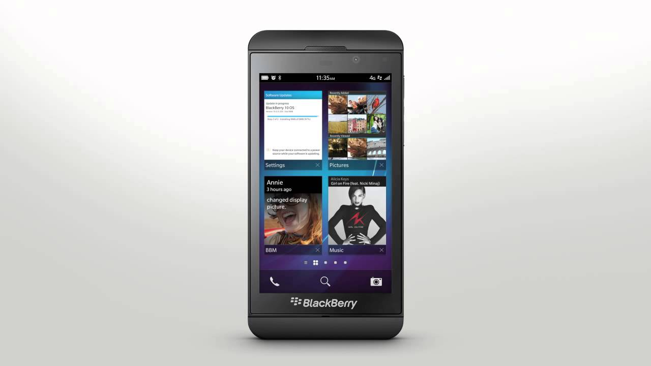 Update Your Smartphone Software: BlackBerry Z10 - Official How To Demo