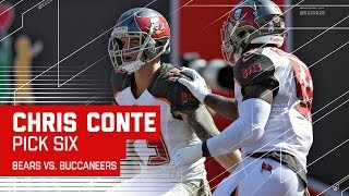 Jay Cutler Tosses 2 Picks & Chris Conte Returns 2nd Pick for a TD! | Bears vs. Bucs | NFL