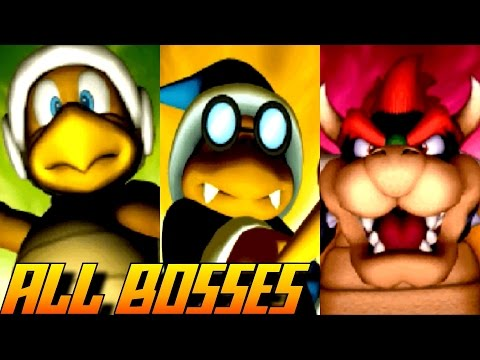 Mario Party DS - All Bosses (No Damage)