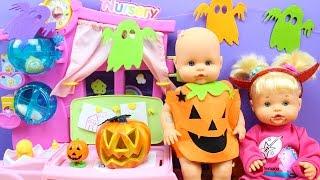 Aventuras de las Bebés Nenuco Hermanitas Traviesas en la Guardería | Fiesta y disfraces de Halloween