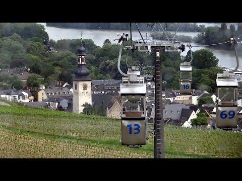 Seilbahn Rüdesheim am Rhein zur Germania