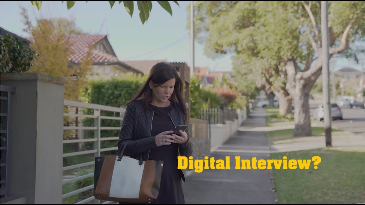 What on earth is a digital interview?