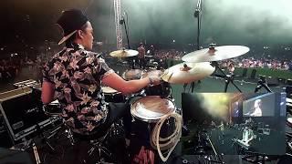 Download G.E.M. 鄧紫棋 - 光年之外 LIGHT YEARS AWAY (JumpstartSG Live @ Rockestra) CK DrumCam
