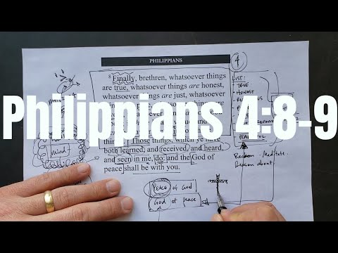 Think on These Things    Grappling with Philippians 4:8-9