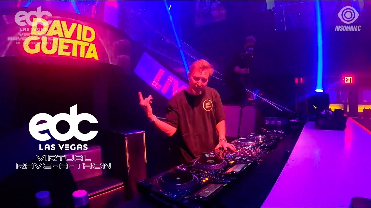 David Guetta - EDC Las Vegas (Virtual Rave-A-Thon)