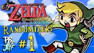THE MASTER SWORD? - Zelda Wind Waker Randomizer (Part 1)